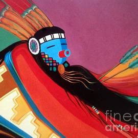 Custom Kachina by Marlene Burns