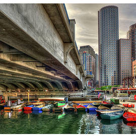 Custom Order - Boston Rowing Center by Joann Vitali