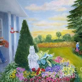 Dorothy Weichenthal - Cutting Flowers
