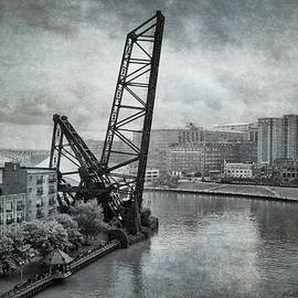 Cuyahoga River Lift Bridge by William Beuther