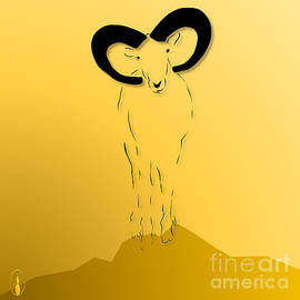 Cyprus Mouflon by Robert De Monos