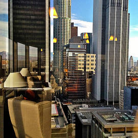 Daido's View - Los Angeles by Kathy Corday