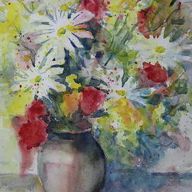 Daisies and Carnations by Marsha Reeves