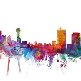 Dallas and Forth Worth Skyline Mashup - Michael Tompsett