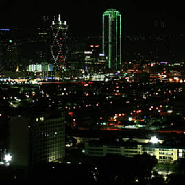 Dallas at Night by Derrick Neill