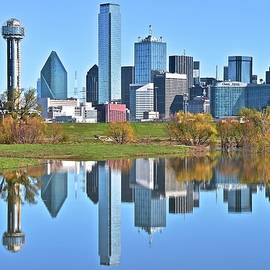 Skyline Photos of America - Dallas Reflecting 2017