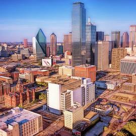 Dallas Skyline II by Joan Carroll