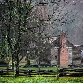 Dan Lawson's Cabin by Susie Weaver