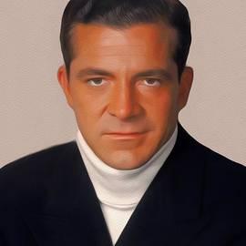 Dana Andrews, Vintage Movie Star - John Springfield