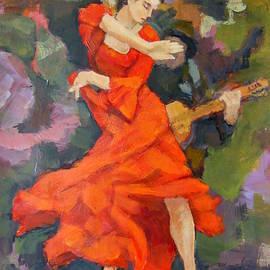 Dance Painting Carmen