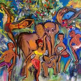 Judith Desrosiers - Dance with Elephants