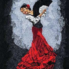 Mihira Karra - Dancer in Red Skirt 1
