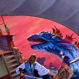 Dangerous Seas by Richard Hescox