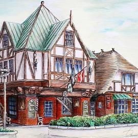 Danuta Bennett - Danish Architecture in Solvang California