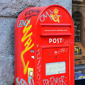 Danish Mailbox by Catherine Sherman