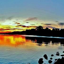 Scott Hufford - Danvers River Sunset