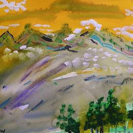 Mary Carol Williams - Dark Pines-White Clouds