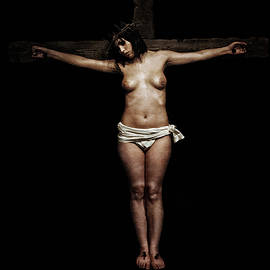 Ramon Martinez - Dark Velazquez Crucifix I