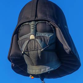 Darth Vader Helmet Hot Air Balloon by Garry Gay