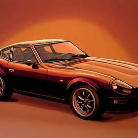 Paul Meijering - Datsun 240Z 1970 Painting