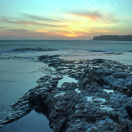 Morgan Wright - Davenport Landing Beach at Sunset