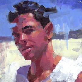 Douglas Simonson - Davi at the Beach