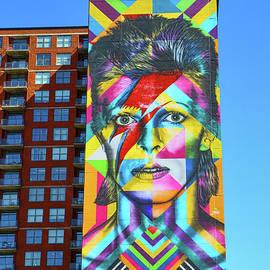 Allen Beatty - David Bowie Mural # 2