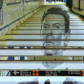 Allen Beatty - David Bowie N Y C Subway Tribute # 2