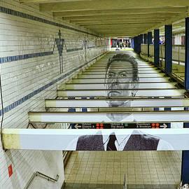 Allen Beatty - David Bowie N Y C Subway Tribute # 4