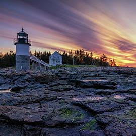 Kristen Wilkinson - Dawn Breaking at Marshall Point Lighthouse