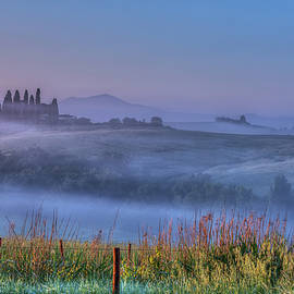 Dawn At Pienza, Tuscany by Susan Dost