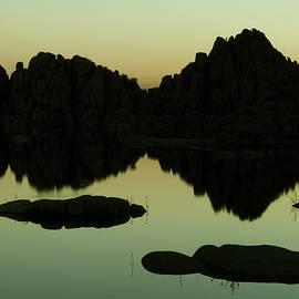 Dawn at Watson Lake, Arizona by Dave Wilson
