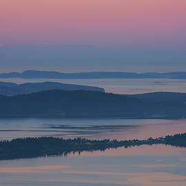 David Lunde - Dawn From Oyster Dome