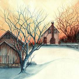 Janine Riley - Dawn has Spoken - Farmhouse Sunrise