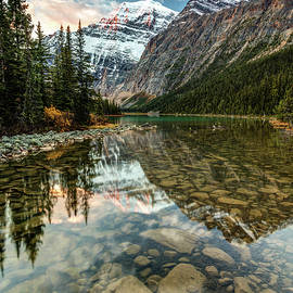 Dawn in the Canadian Rockies by Pierre Leclerc Photography