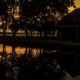 Dawn on the Farm by Ed Ostrander