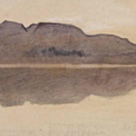 Edward Lear - Dawn on the Nile