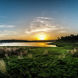 Dawn On The River by Bob Marquis