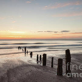 Colin and Linda McKie - Dawn, Sandsend Beach, North Yorkshire