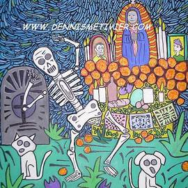 Day of the Dead alter by Dennis  Metivier