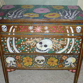 Day Of The Dead Dresser IIi   by Todd  Peterson
