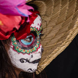 Day Of The Dead Little Girl by Robin Zygelman