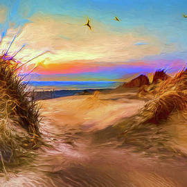 Daybreak on the Outer Banks AP by Dan Carmichael