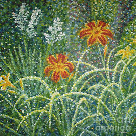 Jim Rehlin - Daylilies and Yucca