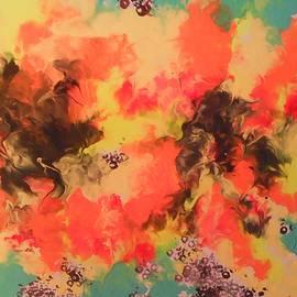 Daylily  by Marcela Hessari