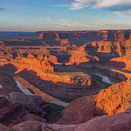 Dead Horse Point Sunrise Panorama by Dan Norris