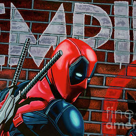 Paul Meijering - Deadpool Painting