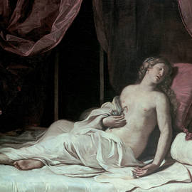 Death of Cleopatra - Guercino