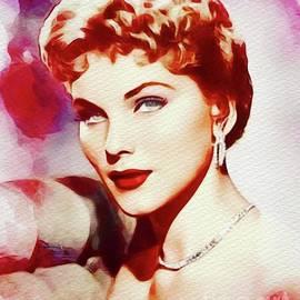 John Springfield - Debra Paget, Vintage Movie Star