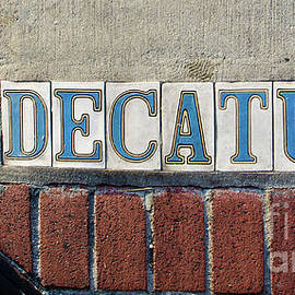 Kathleen K Parker - Decatur Street Sign- Nola